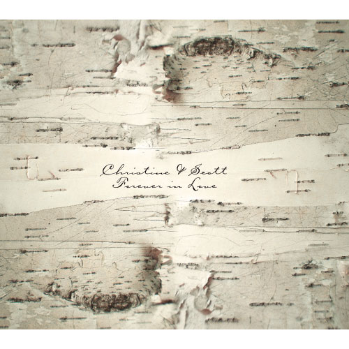 Birch Bark Vellum Luminary Wrap With Sticker