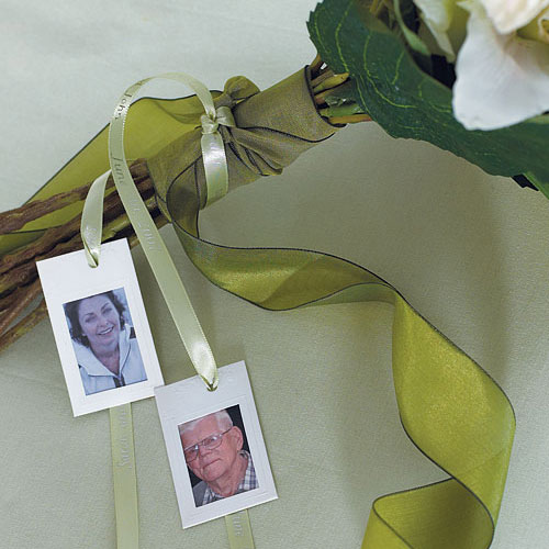 Miniature Paper Embossed Wedding Photo Frames